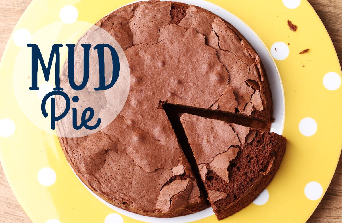 Mud Pie [ vegan chocolate cake]